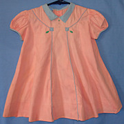 Vintage Nannette Toddler's Little Girl Dress