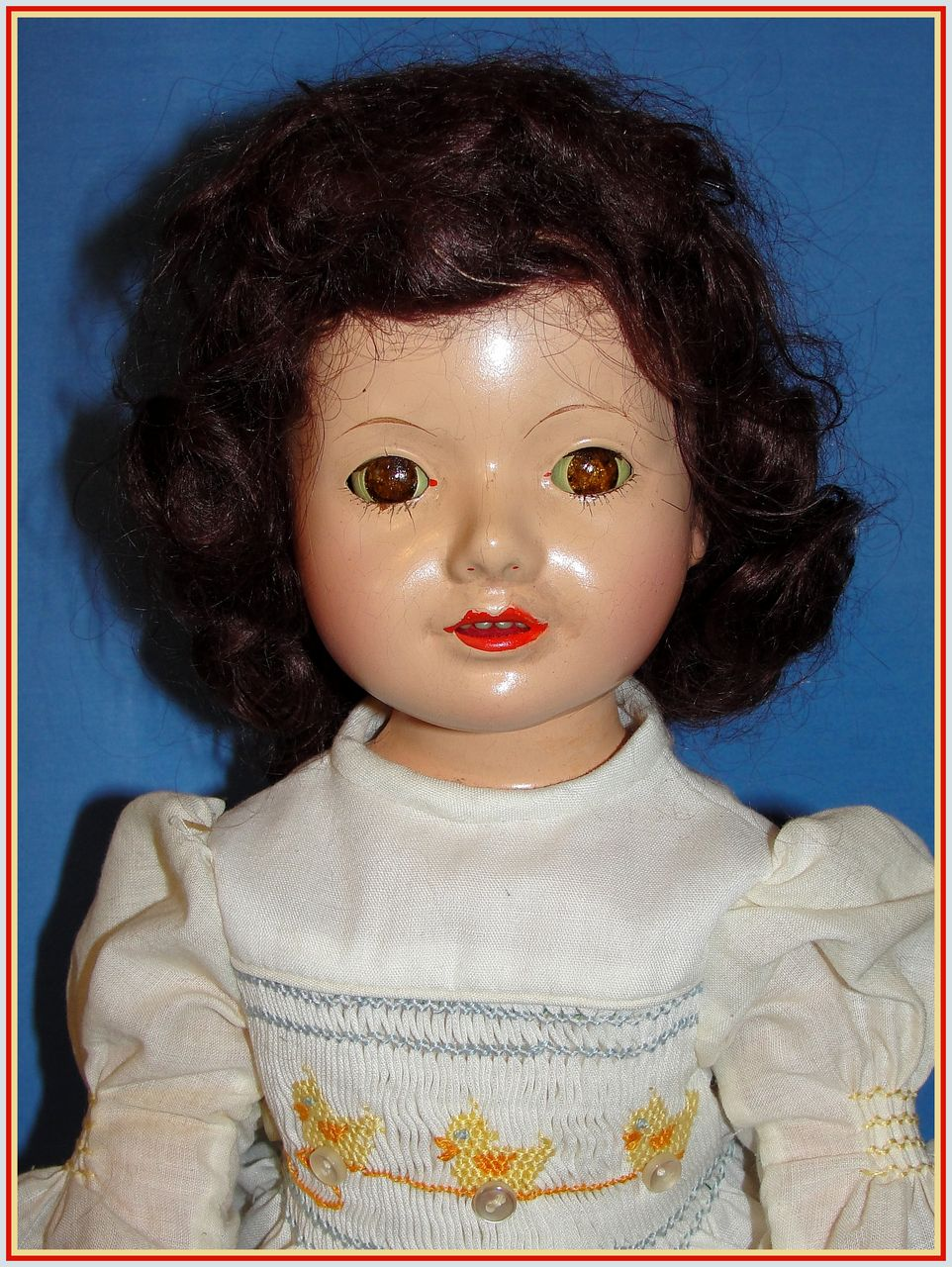"14"" Effanbee Dewees Cochran American Child Doll"