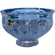 "Beautiful 8"" Waterford Crystal Killarney Bowl W/ Original Box"