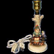 """Hummel """" Wayside Harmony"""" Lamp #111, TMK 3"""