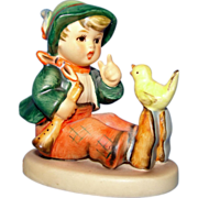 Hummel figurine #63 Singing Lesson TMK 6