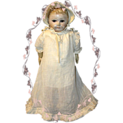 Rare Rollinson Cloth Doll with Provenance and wardrobe