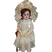 Amazing Simon & Halbig 939 Antique Bisque Doll in Fabulous Factory Original Costume