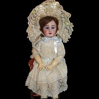 Amazing Simon & Halbig 939 Antique Bisque Doll in Fabulous Factory Original Costume