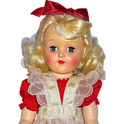 *ON HOLD FOR SUE ONLY* Amazing All Original P91 Toni Doll from 1949 or 50, Mint Clothing + Play Wave Set and Box