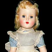 "Beautiful 1950's Arranbee Nanette All Original ""Alice in Wonderland"" hp Doll"