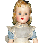 "Beautiful 1950's Arranbee Nanette All Original ""Alice in Wonderland"" hp Doll"