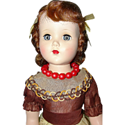 "Arranbee 17"" Nanette Doll in Original Party Dress"