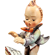 "Full Bee Hummel: ""Band Leader"" 5"" Figurine (#129, TMK 2)"
