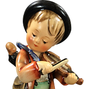 Early Full Bee Little Fiddler 5-1/2' #4 Hummel Figurine TMK 2