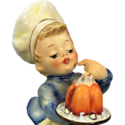 "Adorable Vintage Hummel Figurine ""The Baker""  Mold #128, TMK 5"