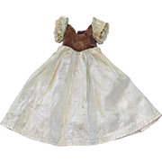"""1937 Snow White Dress w/ Cape, Pantaloons and Stockings for 16"""" Doll"""