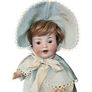 "13"" Bisque Head Baby Doll ca 1920"