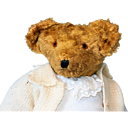 A Wonderful Antique Stuffed Humped Backed Bear possibly by Steiff