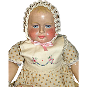 """Remarkable Antique 22"""" Martha Chase Doll - All original paint - Outstanding!"""