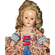 RARE 1939 Composition Effanbee Historical Doll From The Historical Fashion Series in Original Box!
