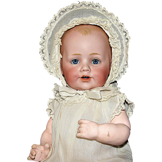 """Precious 12"""" Antique Kestner Character Doll Baby Jean - Too cute!"""