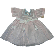"Shirley Temple Dress From 1934 -35 for A 22"" Doll"