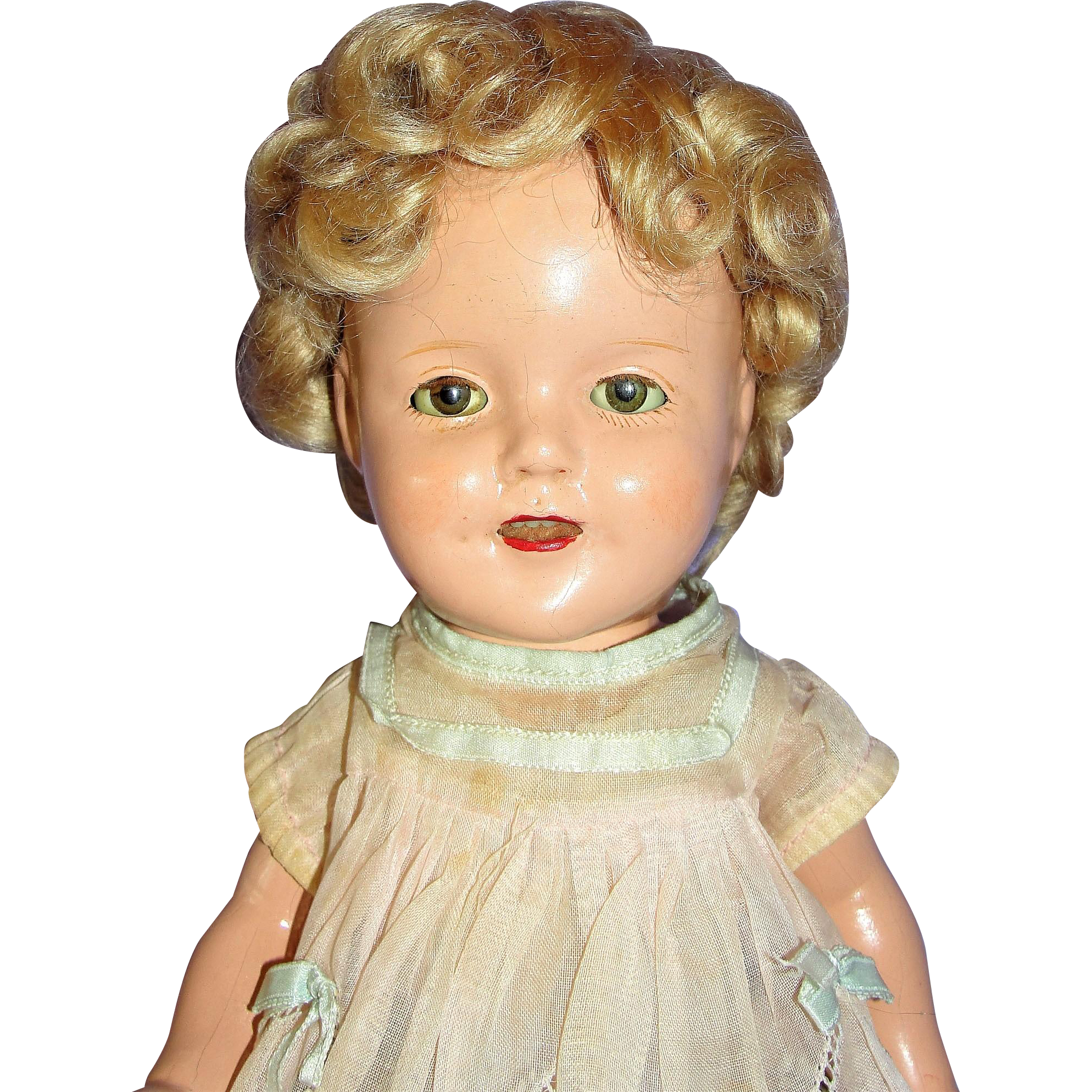 Vintage 1930's Shirley Temple with Wardrobe