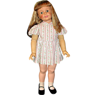 Vintage Ideal Patti Playpal Doll in Rare Original Dress!