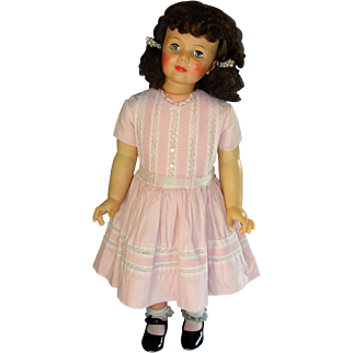 Gorgeous Pink Little Girl's 50's Shirley Temple Cinderella Dress