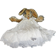 Fabulous Large 1950's Steiff Lulac Floppy Bunny Rabbit