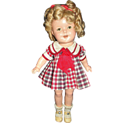 "Gorgeous all original 13"" Composition Ideal Shirley Temple Doll"