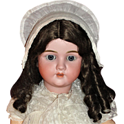 "Gorgeous BIG 32"" Antique German Kley & Hahn Bisque Doll"