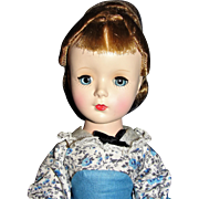 Beautiful 1952 Madame Alexander Little Women Meg walker doll - MINT IN BOX!