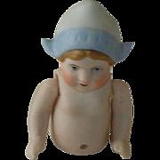 German Estate Bisque Dutch Doll