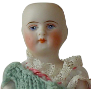German Estate Bisque Doll