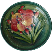 Vintage Moorcroft Freesia Footed Bowl