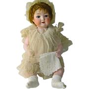 Antique French Doll Hankie Hanky