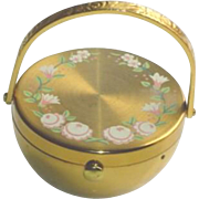 Vintage Kigu Basket Compact c1950