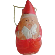 Vintage Celluloid Roly Poly Santa