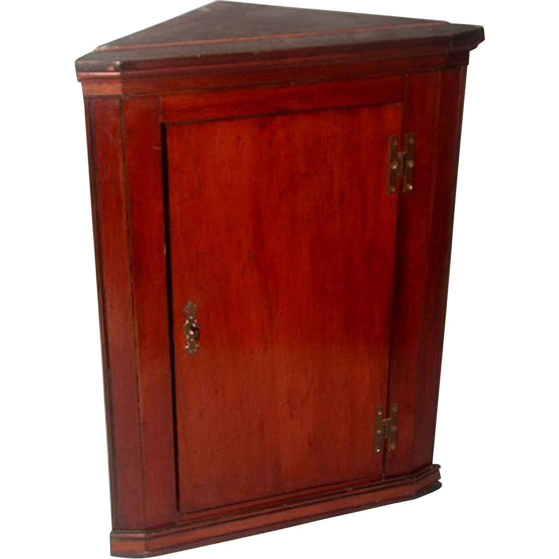 English Corner Cabinet Mahogany C.1875 Hand Made