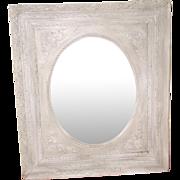 Original Mottled Glass Mirror 19th Century