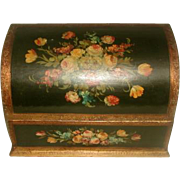 Italian Desk Box Early 1900's Hand Painted
