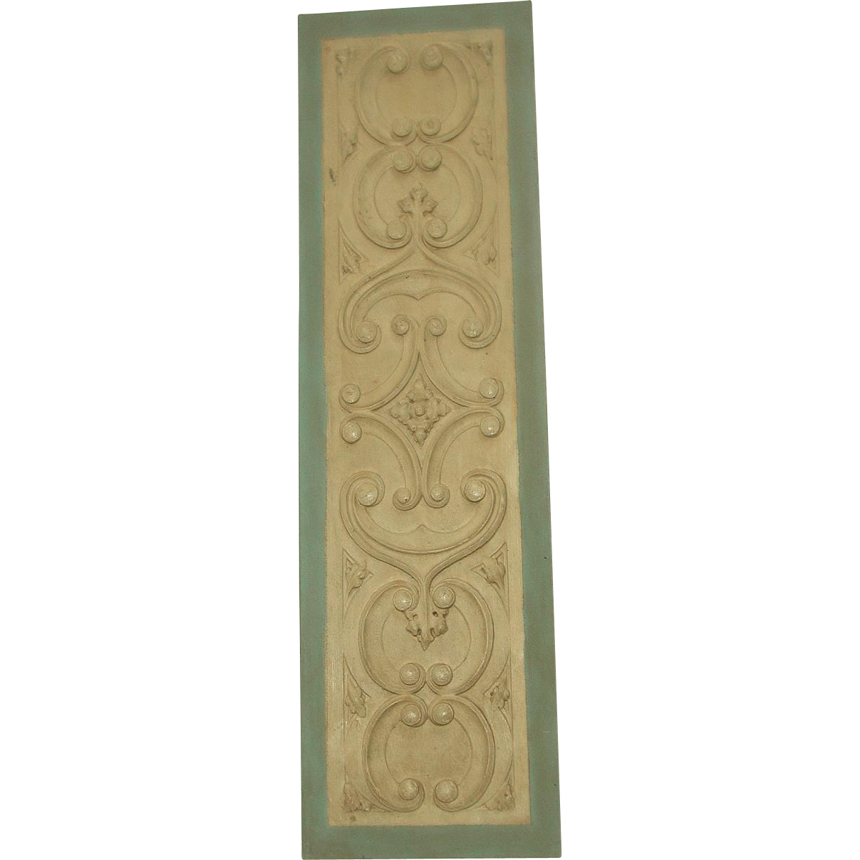 Carved Wall Hanging Wooden 20th Century
