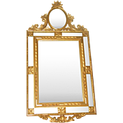 Italian Gilt Mirror Paneled C.1890-1910