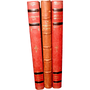 Display Leather Bound Books Swedish C.1922-54