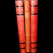 Display Leather Bound Books Swedish C.1922-54