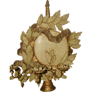 Carved Wooden Sconce Italy 2 Display Options