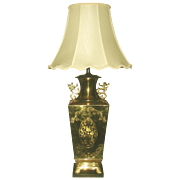 Brass Oriental Lamp Large 3 Way