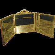 Vanity Mirror Tri-Fold France 19th Century