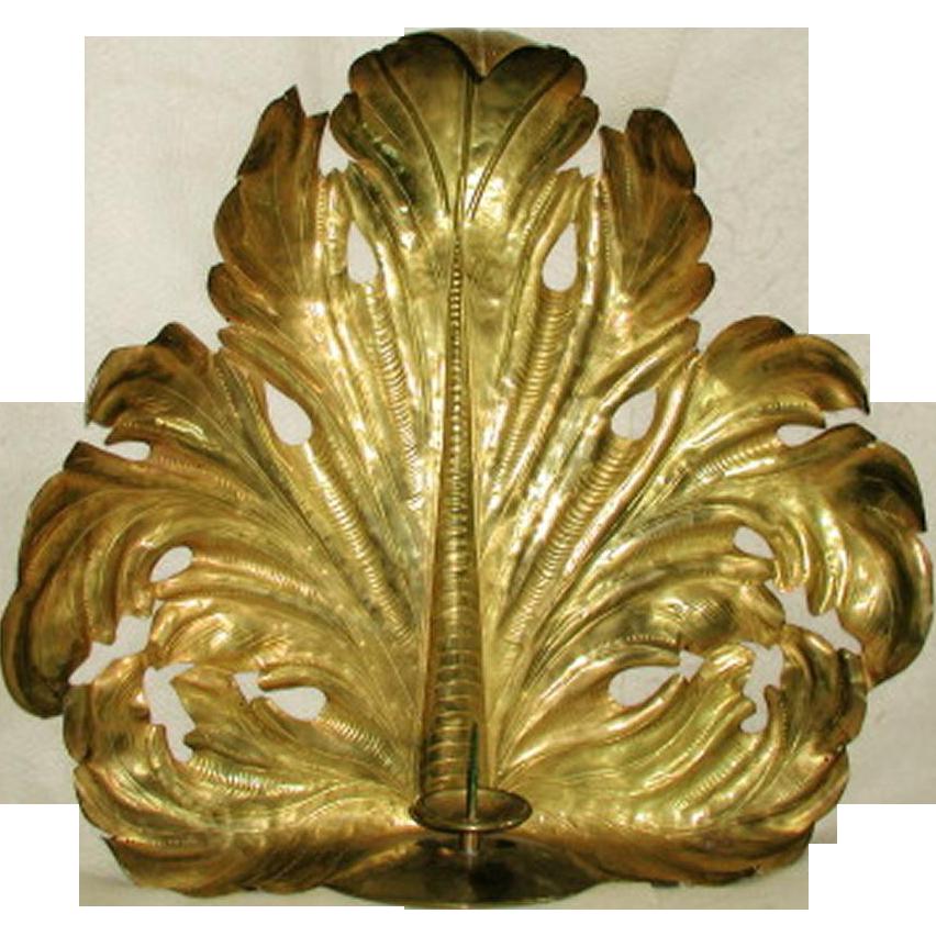 Custom Brass Sconce John Rosselli  20th Century