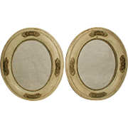 Wooden Acorn Frames Carved Italy 19th Century