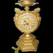 Mayer Gilt Clock Cherubs 8 Day C.1890-1900