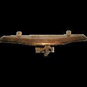 Italian Console Shelf Original Gilt 19th Century