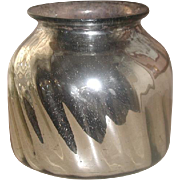 Mercury Glass Vase France 19th Century